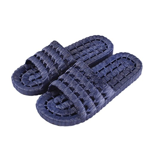 Flats Women Blue Lightweight Bath Men Men Couples Beach Slippers Shoes Soft Jiyaru 1zqHnO4n