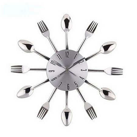 Mzdpp Reloj De Pared Digital 3D Cocina Diseño Moderno ...