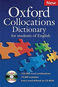 Oxford Collocations Dictionary : New Edition 2009 with CD-rom par Université d'Oxford