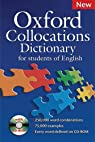 Oxford Collocations Dictionary : New Edition 2009 with CD-rom par d`Oxford