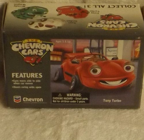Complete 3 Piece Set Chevron Cars Sam Sedan, Tony Turbo & Wendy Wagon 1996 ()