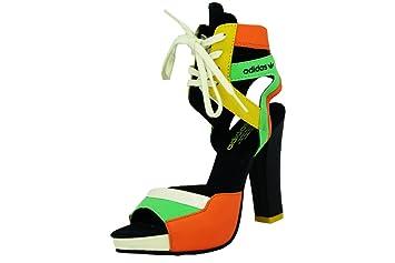 Zapatos De Azul Amarillo Tacon Mujer W Verde Heel Para Eqt Adidas qnARZZ