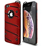 iPhone 6 Plus Case | iPhone 6S Plus Case | Military Grade 15ft. Drop Tested Protective Case with Kickstand,Shockproof,Dual Layer Heavy Duty, Compatible with Apple iPhone 6 Plus | iPhone 6S Plus – Red Reviews