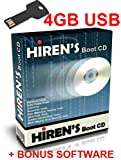 Hirens Boot USB 15.2 Tool to Fix & Repair All PC Problems - 4GB Bootable Metal Key Chain USB -