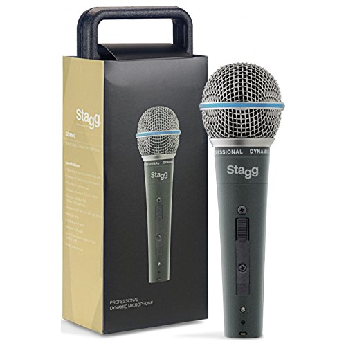 (Stagg SDM60 Dynamic Vocal Microphone with XLR Cable)