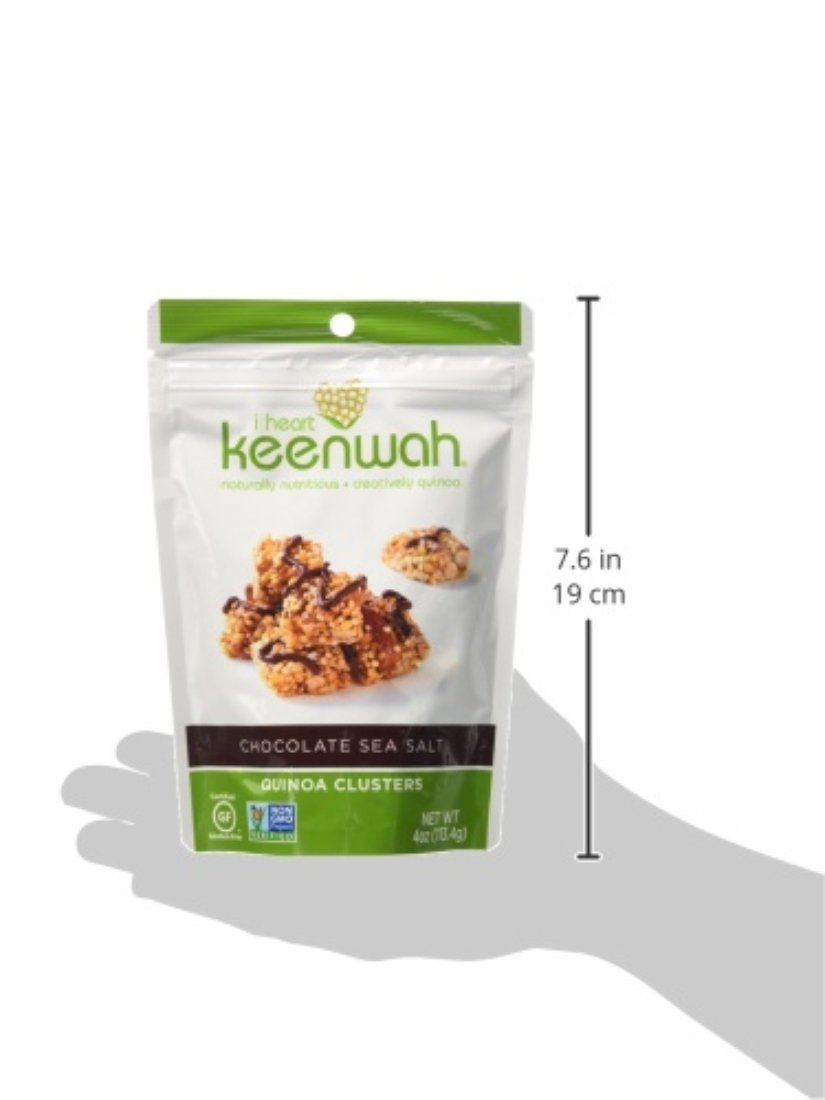 Amazon com   i heart keenwah Chocolate Quinoa Clusters  Sea Salt  4 Ounce   Pack of 6    Grocery   Gourmet FoodAmazon com   i heart keenwah Chocolate Quinoa Clusters  Sea Salt  . Amazon Kitchens Of India Butter Chicken. Home Design Ideas