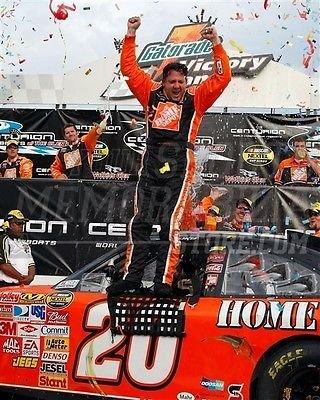 Tony Stewart Home Depot Team 20 racing victory lane 8x10 11x14 16x20 photo 139 - Size
