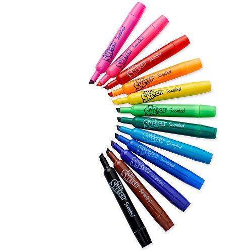Mr. Sketch perfumado marcadores, colores surtidos, 12 Pack (20072): Amazon.es: Bebé