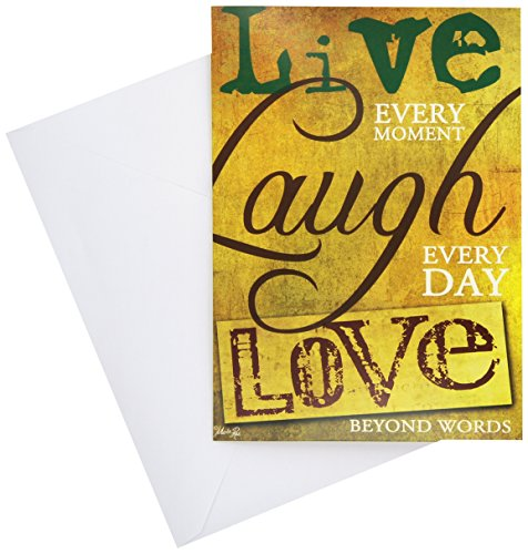 Divinity Boutique Greeting Card Assortment: Thinking of You, Words on Parchment (21241N)