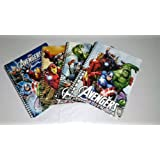 Marvel Avengers Spiral 80 Wide Ruled Sheets School Notebook (2 Pack)