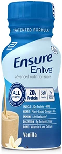 Ensure Enlive Vanilla, Case of 24