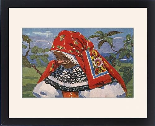 Frame (Czech Republic Traditional Costume)