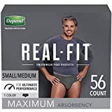 Depend Real Fit Incontinence Briefs for