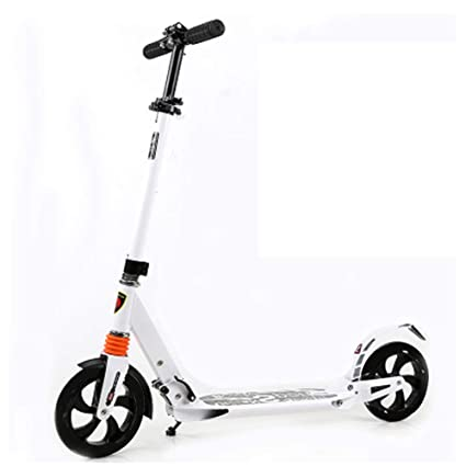 Patinete- Scooter Adulto Plegable 2 Rondas Grandes Travel ...