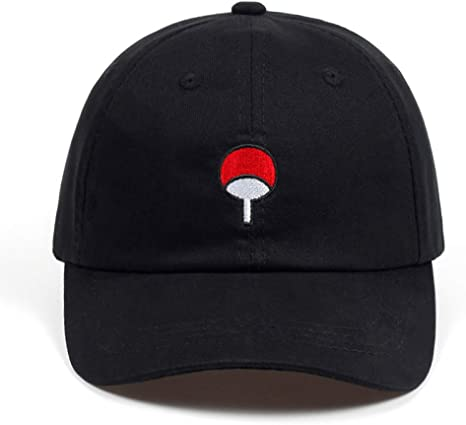 FHSOHG Anime Lovers Naruto Dad Hat Uchiha Familia Algodón Bordado ...