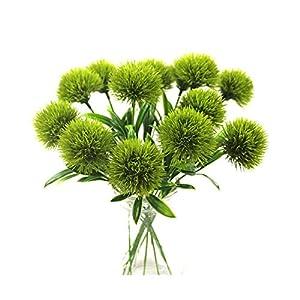HANBINGPO Artificial Flowers Dandelion decoracao Plastic Flower Wedding Home Decoration Valentine's Day Length 25cm 46
