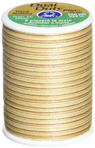 Coats & Clark Inc. COATS & CLARK 262-812 Dual Duty Plus Hand Quilting Multicolor Thread, 250-Yard, Shades Of Sandstone