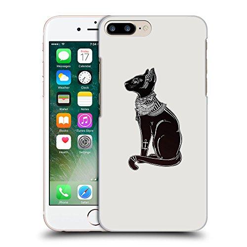 GoGoMobile Coque de Protection TPU Silicone Case pour // Q08090631 Goddess Bastet 1 Platine // Apple iPhone 7 PLUS