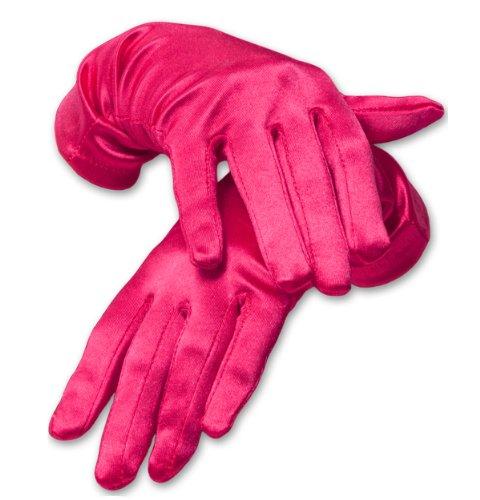 (KMystic Dress Wrist Length Satin Gloves (Hot)