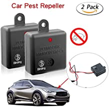 [Upgrade Version]Blinbling Car Rat Repeller-Under Hood Animal Repeller- Multi-used for animal repeller-Fireproof Rodent Repeller for Car 2XPack