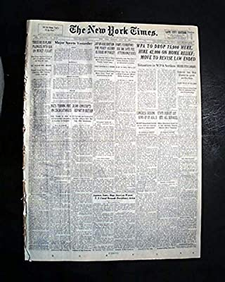 PROVIDENCE Webster County KY Kentucky Coal Mine EXPLOSION Disaster1939 Newspaper THE NEW YORK TIMES, July 16, 1939