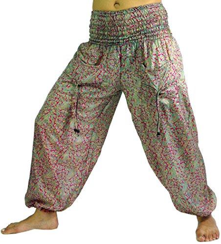 Leichte Haremshose Pluderhose Pumphose Aladinhose / Pluderhosen und Aladinhosen