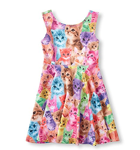 DFXIU Baby Kids Girl Outfit Girls Sleeveless Dress Skirt