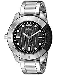 Mens ADH3088 Adh-1969 Analog Display Analog Quartz Silver Watch · adidas