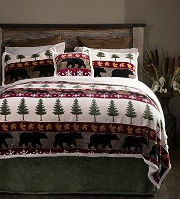 Carstens Tall Pine 5 Piece Bedding Set