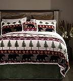 Carstens Tall Pine 5 Piece Bedding Set, Queen