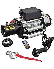VIDAXL 210022 - VidaXL Cabrestante eléctrico 12V