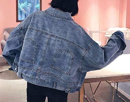 Winwinus Women's Custom Fit Button Batwing Sleeve Jean