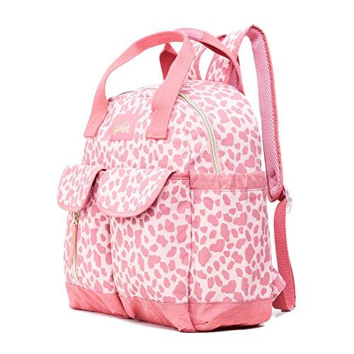 Loisir Mères à à et et des Grand Sac pour à Soins à Rosé Bébés Main Sac Sac Coral Dos Capacité Barbie BBBP180 Conception Dos Sac Main xUnYYf