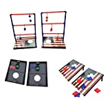 SPORT BEATS SportBeats Combo Toss Game, CornHole Board Bean Bag Toss Game,Ladder Toss and Washer Toss 3 Games in 1 for Indoor/Outdoor Fun