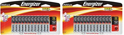 Energizer Max AAA FciPkT Premium Alkaline Batteries, 24 Coun