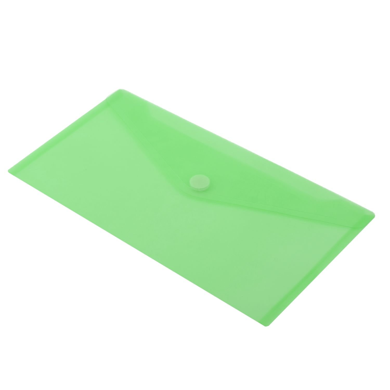 dise/ño vertical HF2 179053-Carpetas sobres A4 en PP transl/úcido para documentos con cierre de velcro Pack de 10 Amarillo