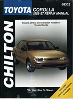 Toyota corolla geochevrolet prizm automotive repair manual john toyota corolla 1988 97 chilton total car care series manuals fandeluxe Images