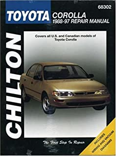 toyota corolla 1984 thru 1992 front wheel drive models haynes rh amazon com 1992 toyota corolla repair manual 1990 toyota corolla repair manual