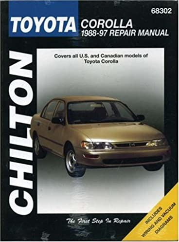 toyota corolla 1988 97 chilton total car care series manuals rh amazon com 1990 Toyota Corolla Speed Sensor 1990 Toyota Corolla Speed Sensor