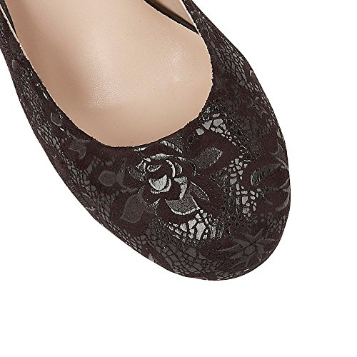 Court Court Clancy Womens Black Clancy Black Print Lotus Shoes Floral Lotus Shoes Womens AanT8wSq