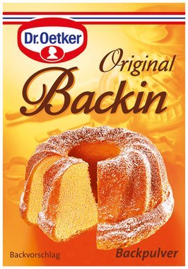 Dr. Oetker baking powder sachets