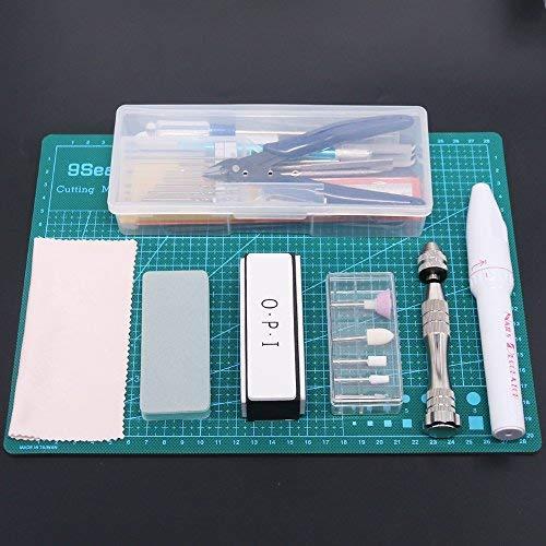 Rustark 36Pcs Modeler Basic Tools Craft Set Hobby Building Tools Kit For Gundam Car Model Building
