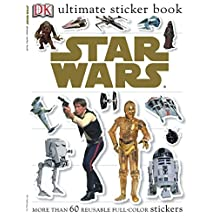 Ultimate Sticker Book: Star Wars: More Than 60 Reusable Full-Color Stickers