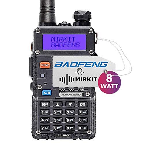 Mirkit Radio Baofeng UV-5R MK5 8W MP Max Power 2019 1800 mAh Li-Ion Battery Pack, Baofengradio corp.
