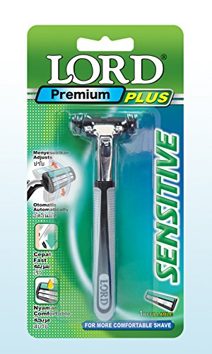 LORD Premium Plus ATRA Compatible Twin Blade Razor with pivoting - Razor Trac Blades 11