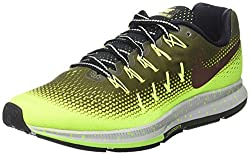 Nike Men's Air Zoom Pegasus 33 Shield, Green, 8 D-medium