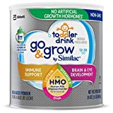 Health & Personal Care : Similac Go & Grow by Similac Toddler Drink with 2'-FL HMO for Immune Support, Non-GMO, Powder, 24 oz