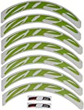 808 decals - Zipp Decal Set for 808/Disc Matte Green, Complete for One Wheel
