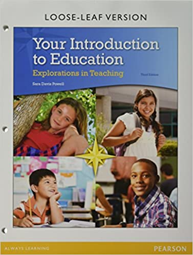 Amazon com: Your Introduction to Education: Explorations in