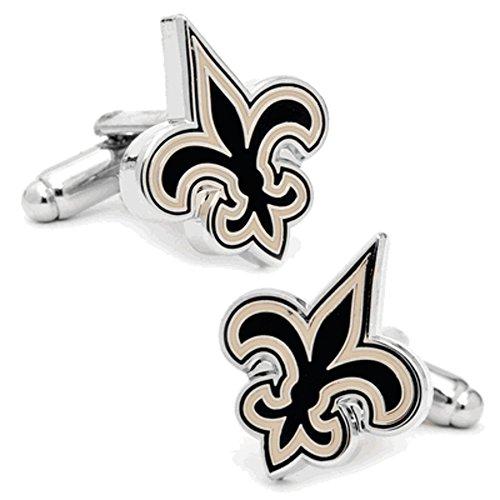 Cufflinks Inc Metal Mens Cuff Links New Orleans Saints Cufflinks (New Orleans Saints Cufflinks)